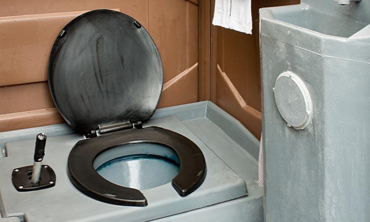 Portable Toilets Interior